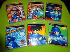 Empty Replacement Cases!  MegaMan X4 X5 X6 Legends 1 2 8 Sony PlayStation 1 PS1