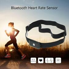 Bluetooth Fitness Tracker Wireless Heart Rate Monitor Sensor Chest Strap A7Q0