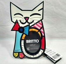 Romero Britto Photo Picture Frame Fun Cat 2011 New in Box Pop Art Gift Craft
