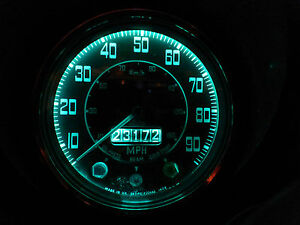 Jaguar Mk2 Daimler V8 LED Green Instrument Dash Bulb Complete Set E10 BA7s BA9s