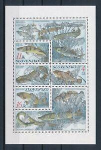 D151308 Slovakia S/S MNH Fish