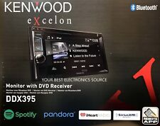 "New Kenwood Ddx395 In-Dash 2-Din 6.2"" Cd Dvd Receiver w/ Built in Bluetooth"