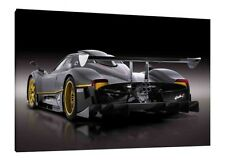 Pagani Zonda R - 30x20 Inch Canvas - Framed Picture Print Wall Art