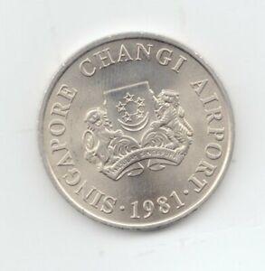 Singapore Uncirculated 1981 5 Dollars-Lot E8