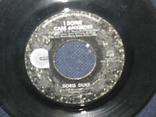 """Doris Duke I Don't Care Anymore/To The Other Woman"""" 45"""