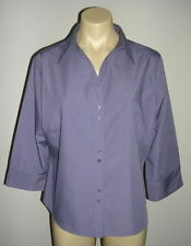 George Business Patternless Collared Tops & Shirts for Women