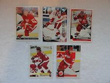 Micah Aivazoff 5 Rookie Card Lot Detroit Red Wings  PACK FRESH