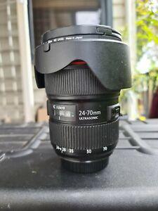 Canon 24-70mm f/2.8L ii USM lens