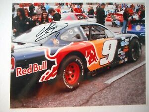 Chase Elliott signed 2010 #9 RED BULL USAR Pro Cup Nascar Series 8x10 Photo