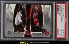 2005 Upper Deck MJ LJ Bonus Pack LeBron James Michael Jordan #LJMJ8 PSA 10 GEM