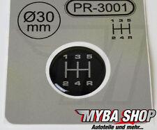 1x Schalthebel Silikon Aufkleber für Schaltknauf 3D Sticker | ∅=30mm | PR-3001