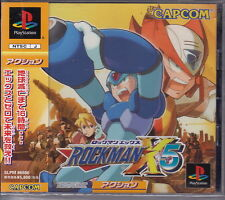 PS1 PSONE PSX ROCKMAN X5 NTSC JAPAN SLPM 86666 ...PERFETTO COME NUOVO