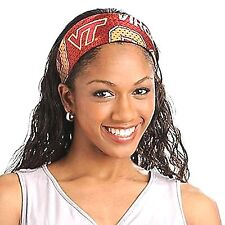 VIRGINIA TECH hokies NCAA FanBand Jersey Headband ,,,,,lowest price is here new