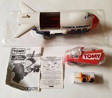 Lot Of 2 Tomy Tomica World Jumbo Car Carrier Set Rare