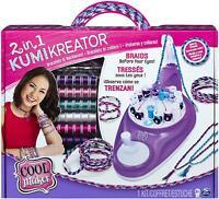 Cool Maker 6053898 2-in-1 KumiKreator, Necklace and Friendship Bracelet Maker