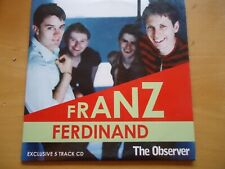 Franz Ferdinand 2005 5 Track Promo CD by The Observer