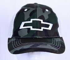 Chevy GMC Camo Snapback Adjustable Mesh Trucker Hat  Baseball Cap