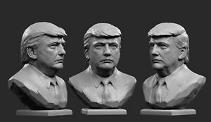 ❤️️Donald Trump❤️️WOOD CARVED BUST