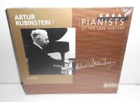028945695525 Great Pianists of the 20th Century - Rubinstein 2CD New Sealed
