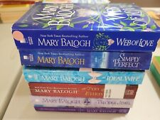 Lot 6 Mary Balogh Web of Love/Simply Perfect/Ideal Wife/Precious Jewel+