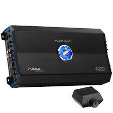 Planet Audio 4000W Class D Monoblock MOSFET 1 Ohm Car Audio Amplifier PL4000.1D