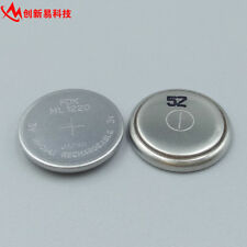 2PCS MAXELL FDK ML1220 ML 1220 RECHARGEABLE 3V BUTTON COIN CELL CMOS BATTERY