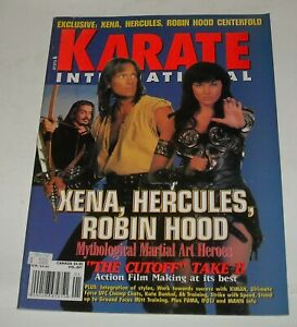 1997 KARATE INTERNATIONAL MAGAZINE XENA HERCULES ROBIN HOOD MYTHOLOGICAL HEROES