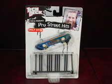 TARGET EXCLUSIVE Tech Deck CHRIS HASLAM'S Pro Street Hits SKATEBOARD with RAIL