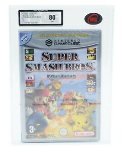 Super Smash Bros Melee Player's Choice Nintendo Gamecube Factory Sealed UKG 80