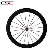 Front 700C 60mm Tubular carbonspeedcycle carbon road wheels racing wheelset