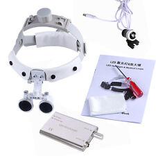 Dental Chirurgico Ottica Medical Binocular Loupes Headband 3.5X LED Headlight IT