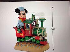 2017 Hallmark REPAINT Mickey's Magical Railroad Disney Magic Ornament Train RARE