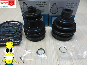 Front Driver Inner & Outer CV Axle Boot Kit For Nissan Pulsar NX 1983 Triobal