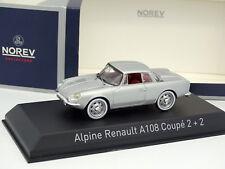 Norev 1/43 - Alpine Renault A108 Coupé 2+2 Grise