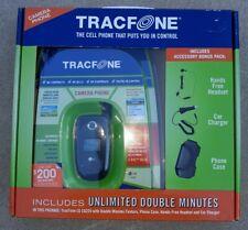 New TracFone LG CG225 Cellular Flip Phone NIB Black