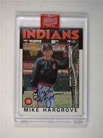 2019 Topps Archives Signature Series Retired Edition Auto #136 Mike Hargrove /79