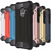 Shockproof Rugged Armor Hybrid Dual PC Protective Cover Case for Samsung Galaxy