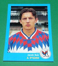 N°169 JACEK BAK LYON OL GERLAND PANINI FOOT 96  FOOTBALL 1995-1996