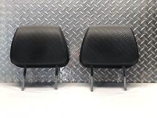 06-08 HONDA RIDGELINE FRONT SEAT HEADREST SET HEADRESTS  RIGHT LEFT BLACK OEM