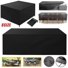 More details for heavy duty furniture cover oxford waterproof rattan cube garden patio outdoor