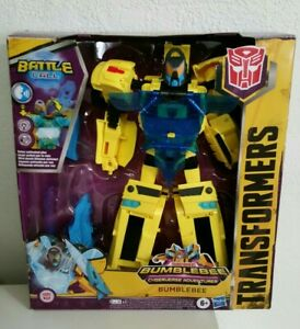 """Transformers Bumblebee Cyberverse Adventures Battle Call Action Figure Toy, 10"""""""