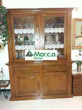 Glass Cabinet 2 Doors, IN Finished Bassano, Super Quality'