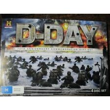 D-Day 70th Anniversary Commemorative Gift Set Massive 4x DVD Band Of Brothers D