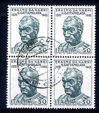 """ITALIA REP. - 1970 - VI centen. della nascita di Erasmo da Narni detto il """"Gatta"""