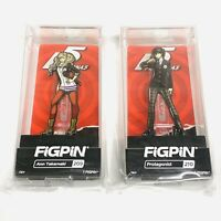 FIGPIN Persona 5 Ann Takamaki + Protagonist LE 1500 New SDCC Locked Limited Pins