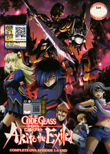 Code Geass: Akito the Exiled DVD Complete OVA 1-5 (Anime) - US Seller Ship FAST