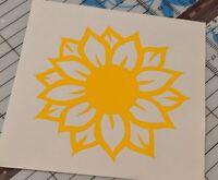 Sunflower Sticker Decal