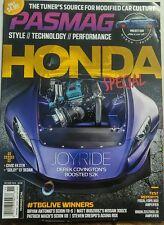 Pasmag Oct Nov 2016 Honda Special Civic Style Performance Tech FREE SHIPPING sb