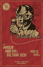 "047 MF Doom - Daniel Dumile Super Villain Hip Hop Artist 14""x22"" Poster"
