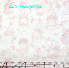 Henry Glass Heirloom Romance Purses Toile Fabric BHY